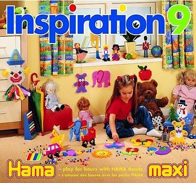 Hama Bügelperlen Vorlagen Heft Inspiration Nr. 9 MAXI