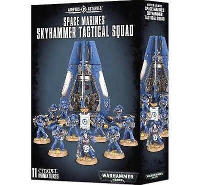 ARMOURED ASSAULT=SPACE MARINES SKYHAMMER TACTICAL SQUAD Games Workshop Warhammer