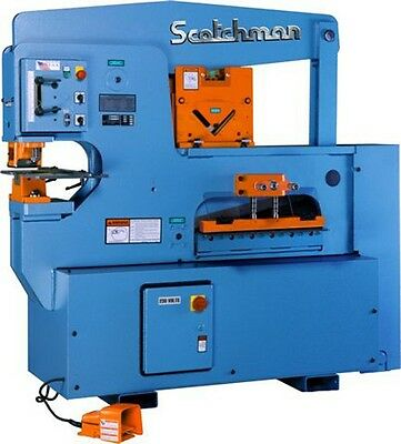 New Scotchman 9012-24m 90 Ton Ironworker Free Ship