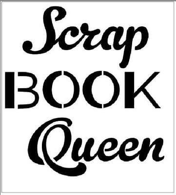 Трафареты STENCIL Scrap Book Queen Craft