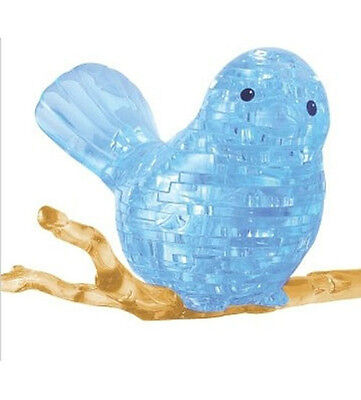 "3D PUZZLE  48 PIECES ""Blue Bird""  / CRYSTAL PUZZLES"