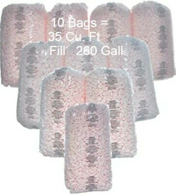 Packing Peanuts Shipping Anti Static Pink Fill 260 Gall 35 Cu Ft Loose Strong