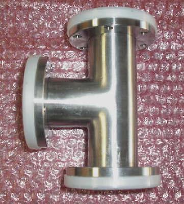 2.75 Stainless Steel Vacuum Tee Flange