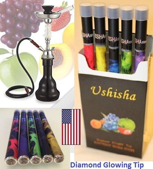 Hookah Disposable Pen Diamond Electronic Shisha USA (5 Pack)