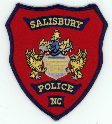 SALISBURY POLICE NORTH CAROLINA NC NICE COLORFUL PATCH SHERIFF