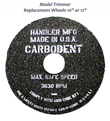 Handler 10 Or 12 Diameter Wheel For Model Trimmer Dental Lab Medium Coarse