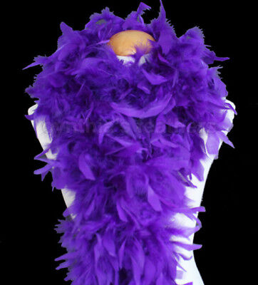 Regal Purple 100 Gram Chandelle Feather Boa Dance Party Halloween Costume