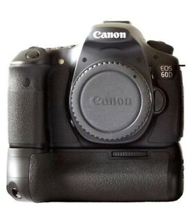 Canon 60D - DSLR - with BG-E9 battery grip