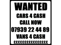 Wanted Scrap My Car Van 4 Cash Free Collection Call 07939 224489 in North London East London