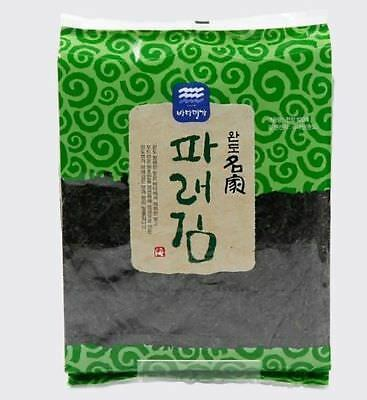 100-sheets Korean Seaweed Dried Laver welling-be Healthy FOOD nori sushi gimbab