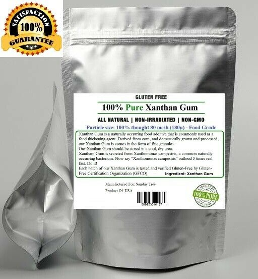 2 kg (4.4 lb) Xanthan Gum Powder in Package - Food Grade -FREE SHIPPING,NON-GMO