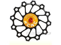 KCNC Ultra Light Alloy Rear Derailleur Pulley / Jockey Wheel , 12T, Black