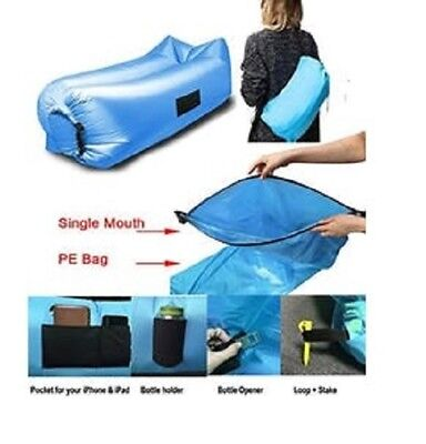 The Easy Lay Next Generation Inflate  Air Lounger Parachute