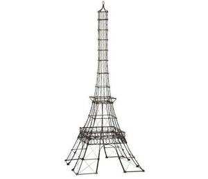 25 tall eiffel tower sculpture paris wire frame centerpiece event wedding decor