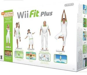 Wii fit plus in the box