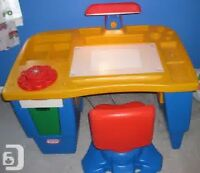 Little Tikes Art Desk With Light And Swivel Chair