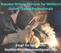 Resumes Writing Services for Welders and Pro Trades