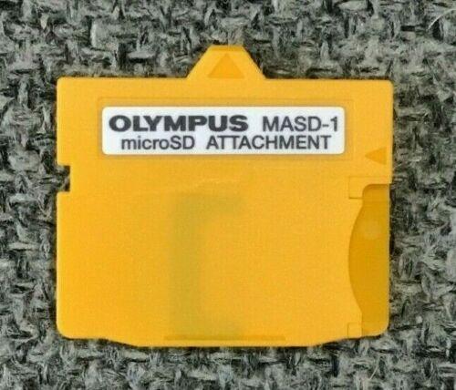 OLYMPUS MASD-1 MicroSD ATTACHMENT CARD (untested)