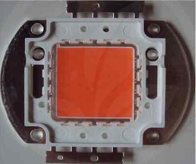 2pcs 30 Watt Full Spectrum Led Light Chip 380-840nm. Indoor Diy Plant Grow Light