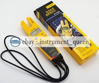 Fluke T5-1000 1000 Voltage Current Electrical Tester Clamp Meter New