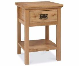 Bentley Designs Provence Oak Lamp Table
