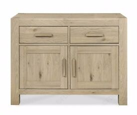 Bentley Designs Turin Aged Oak Narrow Sideboard