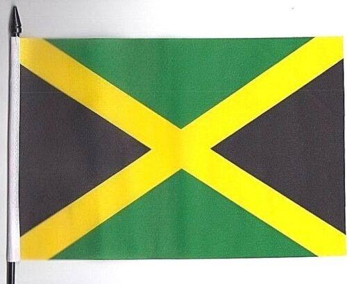 Jamaica Medium Hand Waving Flag