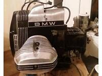 BMW R65 engine and gearbox