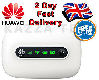 HUAWEI E5331 UNLOCKED WHITE HSPA+ Mobile MIFI WIFI 3G Wireless Modem REFURB