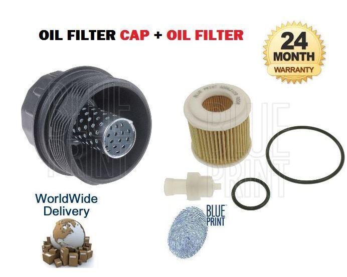 FOR LEXUS CT200H 1.8 HYBRID 2ZR-FXE 2010-> NEW OIL FILTER + FILTER PLASTIC CAP