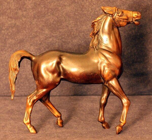 100yrold ANTIQUE RARE K&O KRONHEIMER& OLDENBUSCHHORSE STATUE SCULPTURE figurine