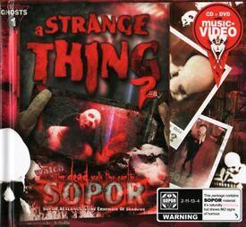 Sopor Aeternus & The Ensemble Of Shadows - A Strange Thing 2 Say. Collector's Edition. RARE.