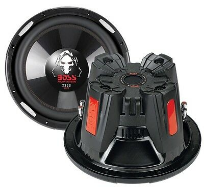 "2) New BOSS AUDIO P126DVC 12"" 4600W Car Power Subwoofers PAIR Subs DVC 4 Ohm"