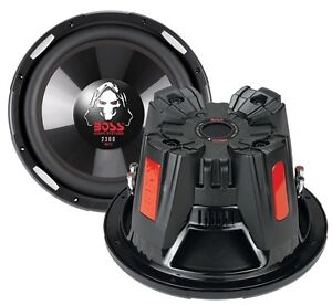 2-New-BOSS-AUDIO-P126DVC-12-034-4600W-Car-Power-Subwoofers-PAIR-Subs-DVC-4-Ohm