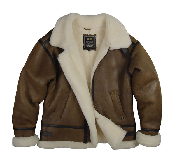 Wool Lined Leather Bomber Jacket | Outdoor Jacket