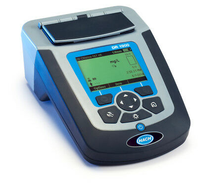 Hach Dr1900 Portable Spectrophotometer Pn Dr1900-01h