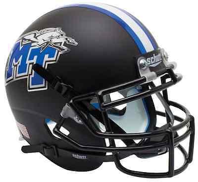 MIDDLE TENNESSEE STATE BLUE RAIDERS Schutt AiR XP REPLICA Football Helmet (Blue Replica Football Helmet)