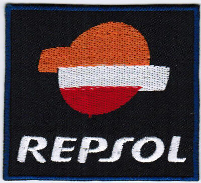 Repsol Oil   Gas Company Car Racing Badge Iron On Embroidered Patch
