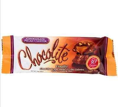 ChocoRite - Chocolate Pecan Cluster Bars, Low Calorie, Low Sugar 16ct