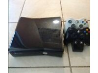 Xbox 360 w/ 2 controllers and 25 games 250GB