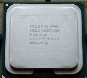 5 Intel E8400 3.0 GHZ Dual Core Processors
