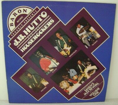 J.B.Hutto & The Houserockers Live at Sandy's Jazz Revival LP Baron Records 101
