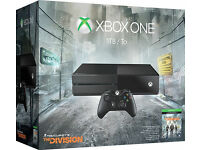 Xbox One 1TB with The Division - NEW - Cash or swap with iphone 6