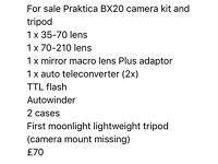 Praktica BX20 camera