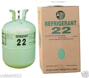 Details about N R-22 refrigerant 30 lb New Sealed Jug Cylinder R22