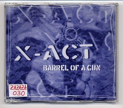 X-Act Maxi-CD Barrel Of A Gun - 4-track CD - depeche mode COVER VERSION ()