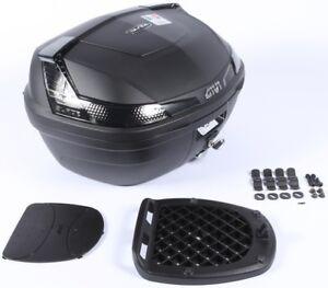 Givi Blade B47 Blade Tech Monolock Top Case Smoke Reflectors 47L #B47NTMLA