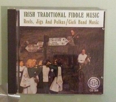 IRISH TRADITIONAL FIDDLE MUSIC reels jigs and polkas cieli band music CD ()