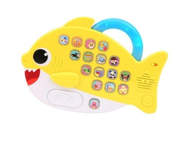 PINKFONG Shark Family Melody Pad Baby Shark Koreanische Version LED-Licht YL