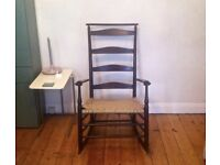 Genuine Shaker Slat back Rocking Chair
